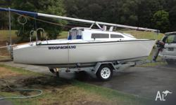 Boat Description - Castle 650 Trailer Yacht Boat &