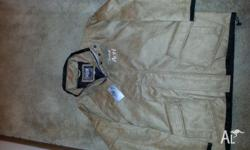 Brand New Offical Castrol Merchandise Suede Jacket