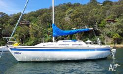 Very well maintained and presented Catalina 25 built in