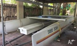 Nacra 4.5 Resort for sale in Cairns. It comes with a
