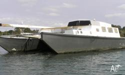 Catamaran boat Albany as is where is best offer In need