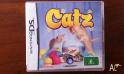 Catz Nintendo and 3DS game. In good condition. Only