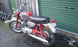 CB160 Honda, mainly original otherwise restored. This
