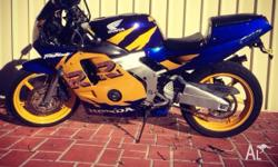 1990 cbr 250 RR (jap) clean bike great learner fun to