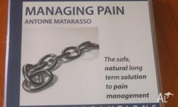 CD -Hypnotherapy Managing Pain and workbook Promoted
