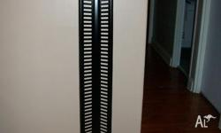 12 CD racks available, 60 stack, solid metal frame,