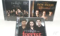 Twilight books and CD�s First three books in the