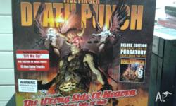 five finger death punch and rob zombie cd like new ffdp