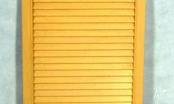 Cedar Louvre Doors FROM $70. Many available. Ideal for