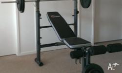 Hi Weight set for sale consisting of incline/decline