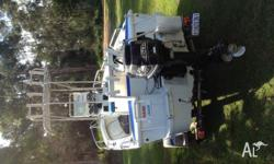 Reef hunter caprice 60 mercury Bigfoot Lorance x5