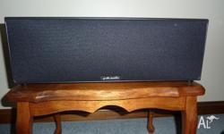 Polk audio centre speaker in as new condition. Product