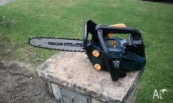 chainsaw 10'' petrol powered goes well ph allan on