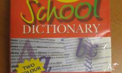 Chamber's School Dictionary in excellent condition for