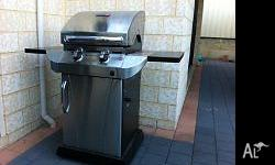 Char-Broil Tru Infrared BBQ, used once only, (Christmas