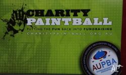 This charity Paintball Tickets entitles 10 people to