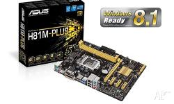 3 x ASUS H81M-PLUS Socket 1150 Motherboards for sale