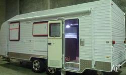 Brand New factory manufacturer 20ft caravan made by TK