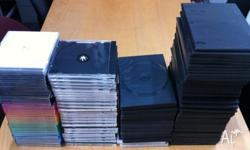 I'm selling 100s of thin and thick CD and DVD/Blue Ray