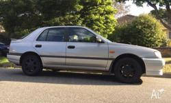 Nissan pulsar 2.0L, SR20 engine, SSS like with 5 month