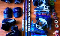 HOCKEY STICKS IN PICTURE HAVE BEEN SOLD, SELL THE REST