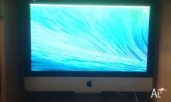 iMac 21 inch bought september 2013 2.7 GHz Intel core