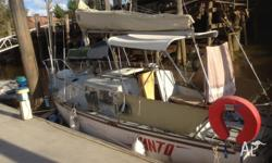need to sell my trident 24ft liveaboard yacht i have