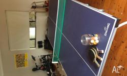 Used Ping Pong table for sale. Bats, net and balls