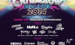 10 X CHEAP ULTRAGLOW TICKETS AUSTRALIA LARGEST PAINT