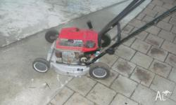 cheap victa lawn mower petrol 2 stroke slacker did run