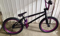 Hey, up for sale is my We The People - Versus BMX Bike,