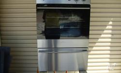Chef Gas Wall Oven, stainless, clean and very good