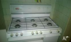 Chef Society six burner LPG gas stove / oven with