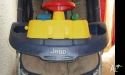 Jeep pram lightweight, easy one handed folding down,