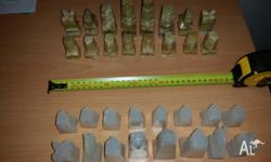 Chess pieces for sale. At least 40 years old but in
