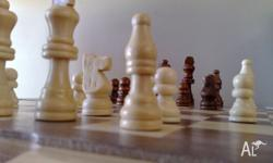 Chess Set Game 7 in 1 Game set ; Chess, Dominoes,