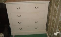 This old style Chest of Draws is extremely solid. It is