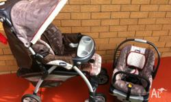 The Chicco Cortina Travel System combines the Cortina