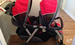 Details Easily travel together with 2 infants, 1