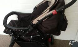 Nearly brand new reverseable pram with good conditions.