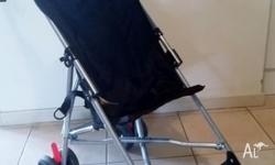Child Stroller - Near New Condition Used Once Light,