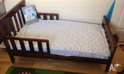 Selling toddler bed as child has outgrwon. rarely used.