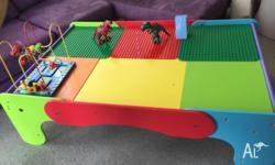 Up for grab pre loved children Activity table Beautiful