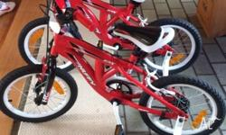 WTS. Kids 40 cm Huffy bike x2.Brand new, never ridden.