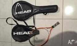 Small tennis racquet - children's - Head brand. Perfect