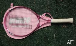 Children's Pink Prince Tennis Racquet. Good condition.