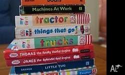 Collection of 12 children's transport themed books! All
