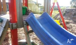 Children's Wave Slide Great for Playground, Cubby house