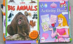 Childrens Activity books 30c each for Boys or Girls