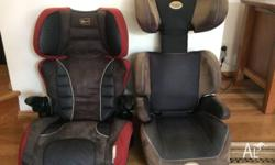 Range of children's car seats. Good condition. At $40